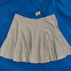 NWT Striped Mini Skirt